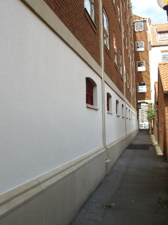Merchants House, Bristol Alley Plynth Course After