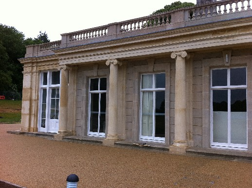 Tidworth House After Paint removed