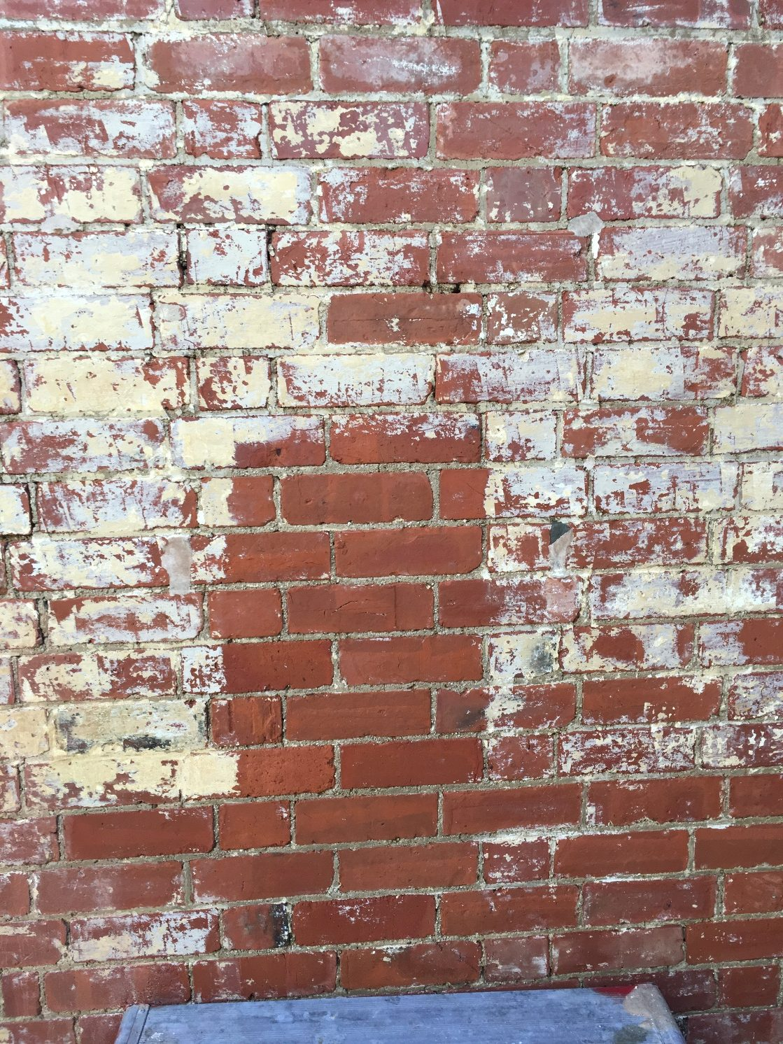 Bricks during cleaning 2