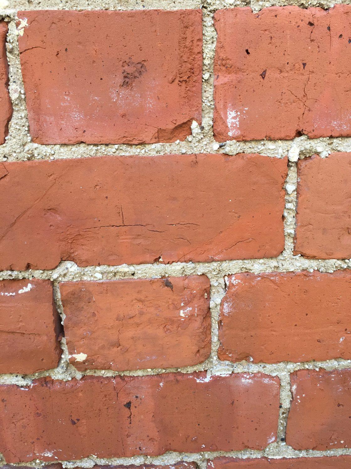 Cleaned brick