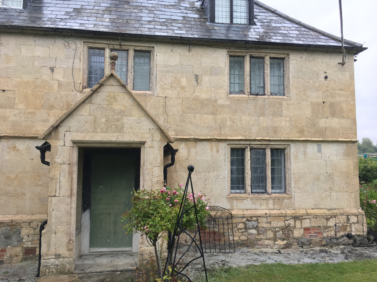 Before Repointing started